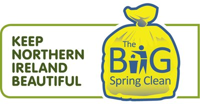 Logo for the Keep Northern Ireland beautiful Big Spring clean campaign